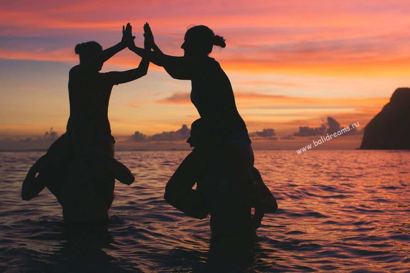 Закат на пляже Карма Кандара
