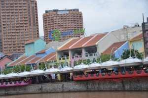 Набережная Clark Quay в Сингапуре
