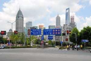 Прогулка по Шанхаю 2013 г.