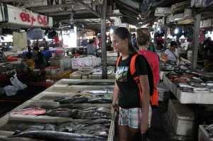 Рыбная деревня Джимбаран. Рынок