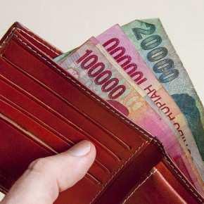 Наличные деньги, Индонезийская рупия, Бали