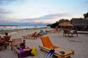 Пляжный отдых на островах Гили.