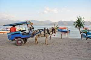 Такси на островах Гили.