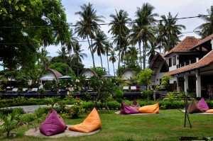 Место для релакса на островах Гили