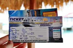 Билет на острова Гили компанией Marina Srikandi