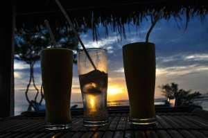 Закат на островах Гили. Гили Эир.