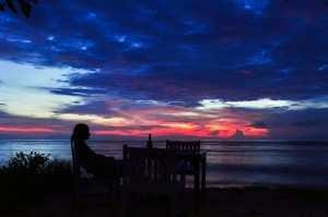 Закаты на Гили. Гили Эир. Январь 2014.