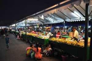Рынок в Кота Кинабалу