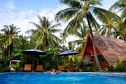 Тихое, уютное место на Гили Эир. Бали