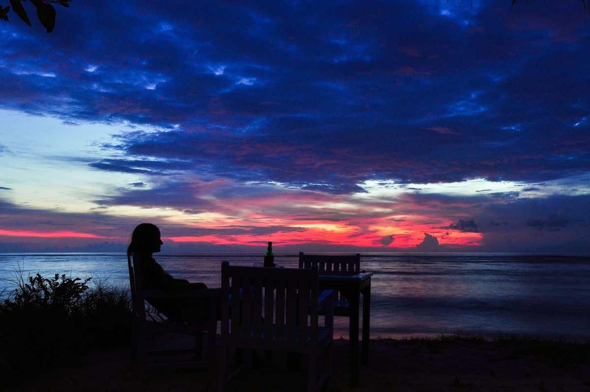 Потрясающие закаты на островах Гили