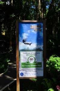 Вход в TreeTop Adventure Park парк веревок