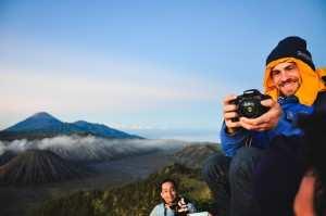 Памятные фотографии с вулкана Бромо