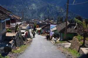 Деревня у подножия Бромо