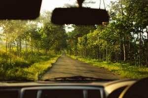 по дороге на вулкан Иджен