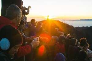 Встреча рассвета на вулкане Бромо