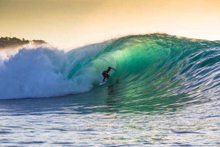 Соревнования Rip Curl на пляже Паданд Паданг Бали