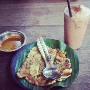 Вкусный обед в варунг Bunana
