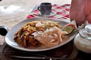 Nasi goreng - традиционный балийский рис