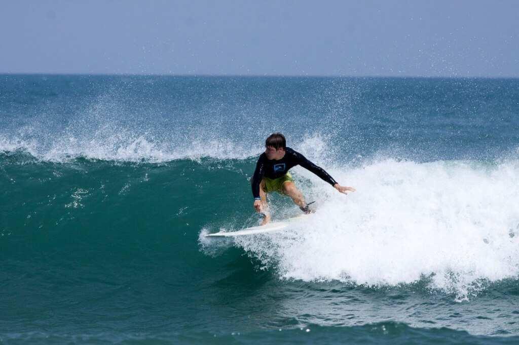 Серфинг, остров Бали