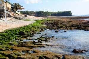Пляж Баланган на отливе