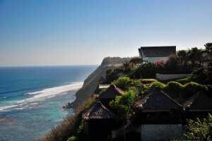 Вид из гостиницы Karma Kandara
