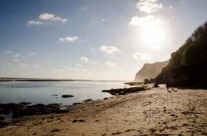 Отлив на пляже Карма Кандара
