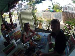 Мы в Balangan Cafe. Остров Бали