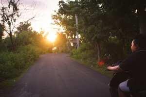 Дорога на полуостров Букит. Бали