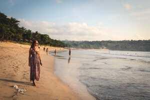 Прогулки на закате. Пляж Джимбаран