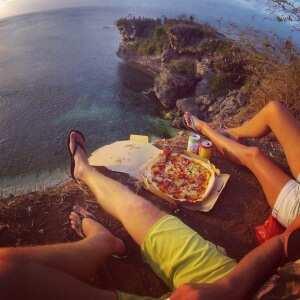 Пицца на Балангане
