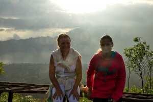 Мы на вершине вулкана Батур