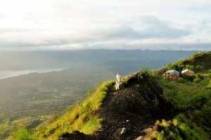 Встреча рассвета на вулкане. Бали 2016