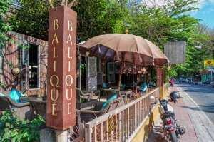 Ресторан Balique остров Бали