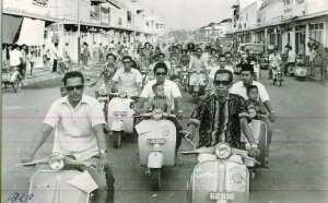 Остров Бали в 70-е годы