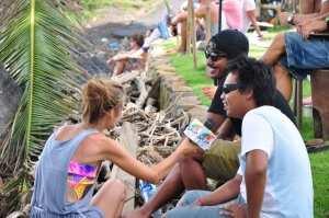 Комментаторы соревнований Surf Jam