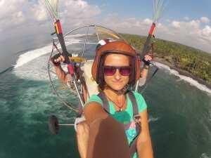 Лучшее селфи на острове Бали. Полет на паралете