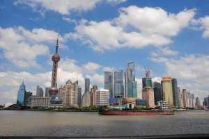 Набережная Шанхая, Китай