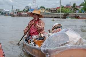 Прогулка по каналам в Бангкоке, Тайланд