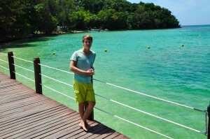 Лазурный берег острова Сапи. Борнео, Малайзия