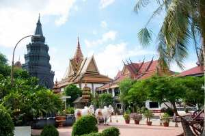 Камбоджа, городок Сием-Рип