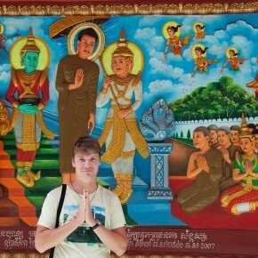 Сием-Рип, храмовый комплекс 2017 год
