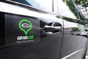 Такси Grab на Бали