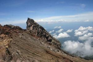Хребты вулкана Гунунг Агунг, остров Бали