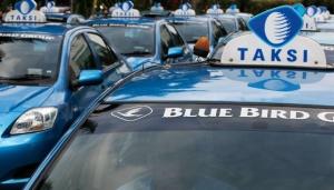 Такси Блю Берд на острове Бали