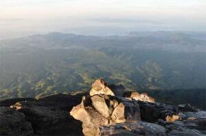 Виды с вулкана Агунг, остров Бали