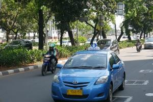 Такси Blue Bird на Бали