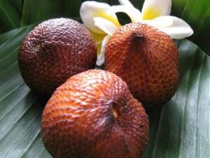 Snake Fruit на острове Бали