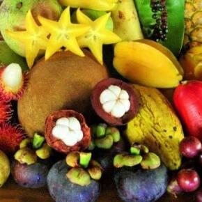Экзотические фрукты Бали
